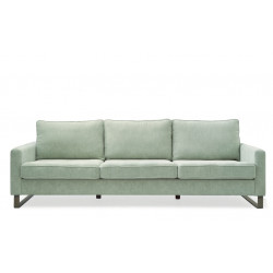 West Houston Sofa 3,5 seater polyester-polyacryl mint / Rivièra Maison