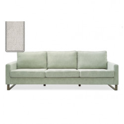 West Houston Sofa 3,5 seater polyester-polyacryl pearl / Rivièra Maison