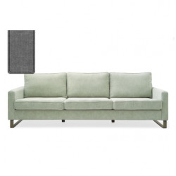 West Houston Sofa 3,5 seater washed cotton grey / Rivièra Maison