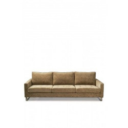 West Houston Sofa 3,5 seater, velvet, clay / Rivièra Maison