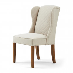 William Dining Chair oxford weave flanders flax / Rivièra Maison