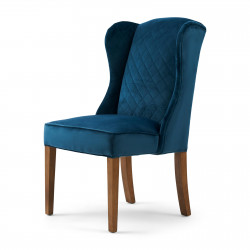 William Dining Chair velvet ocean blue / Rivièra Maison