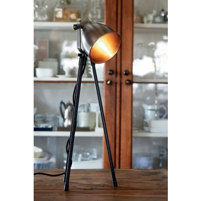 Bricklane Table Lamp steel / Rivièra Maison