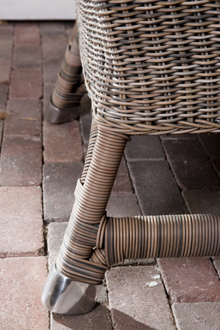 Rustic Outdoor Rattan Nicolas Wing Chair / Rivièra Maison-1
